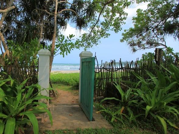 The last house beach