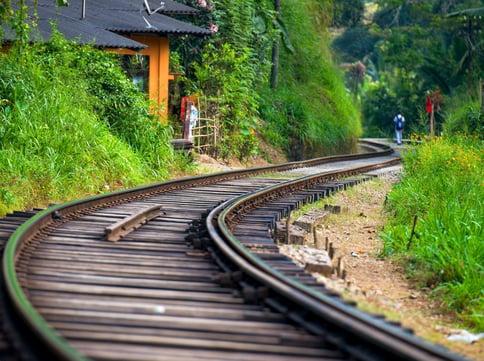 Railway near Kandy