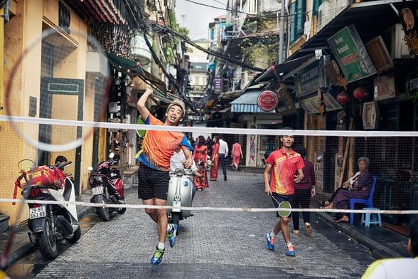 Vietnam - Badminton Street Life-1